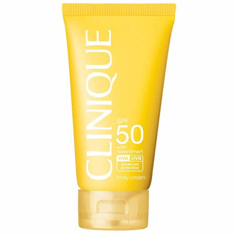 Clinique Sun Care Body Cream FPS 50 - Protetor Solar em Creme 150ml