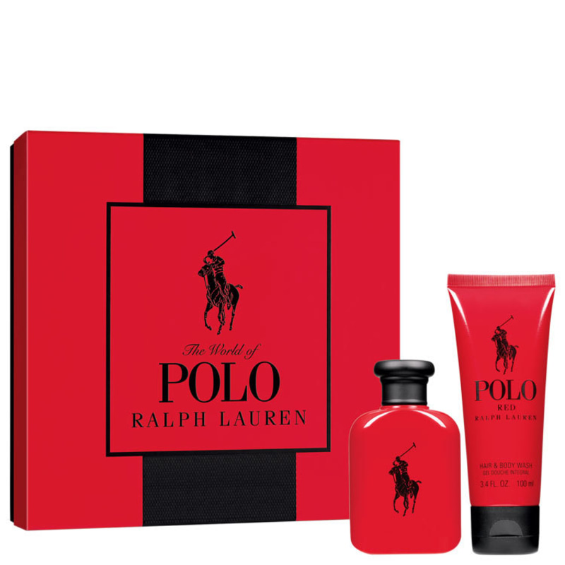 Conjunto Polo Red Ralph Lauren Masculino - Eau de Toilette 75ml + Gel de Banho 100ml