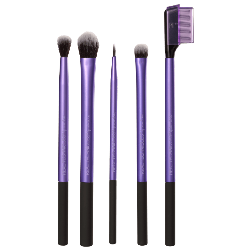Real Techniques Kit de Pincéis Enhanced Eye (5 produtos)