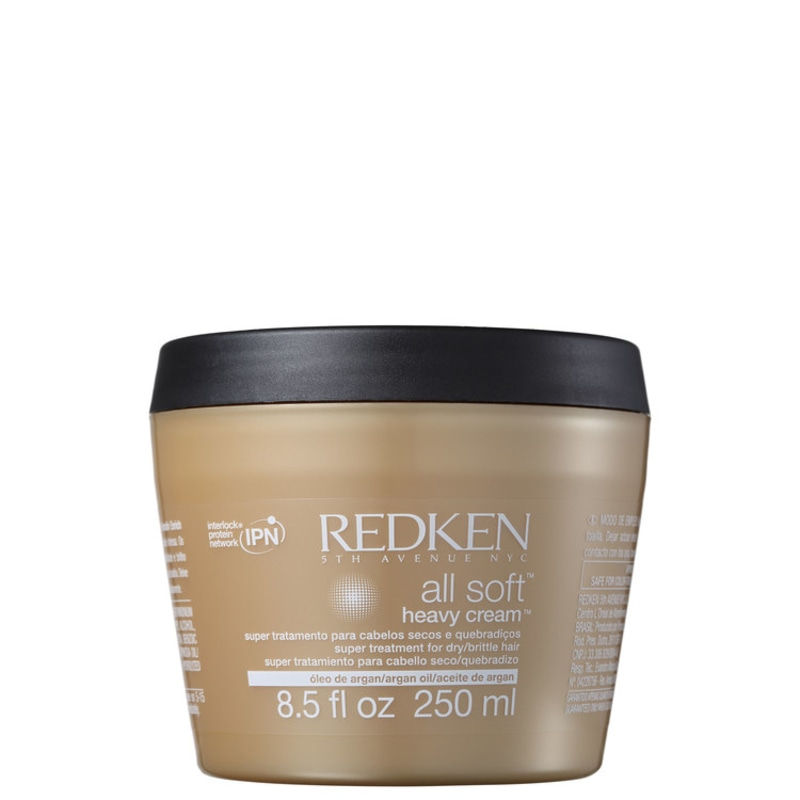 Redken All Soft Heavy Cream - Máscara de Tratamento 250ml