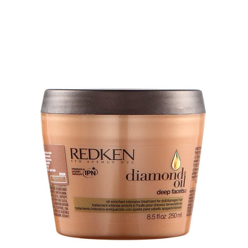 Redken Diamond Oil Deep Facets - Máscara de Nutrição 250ml