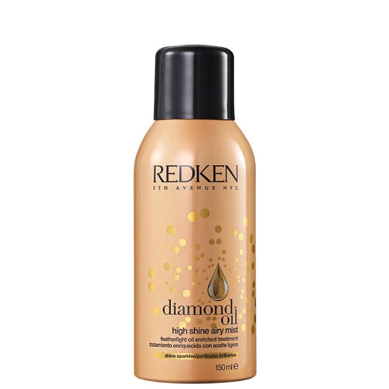 Redken Diamond Oil High Shine Airy Mist – Spray de Brilho 150ml
