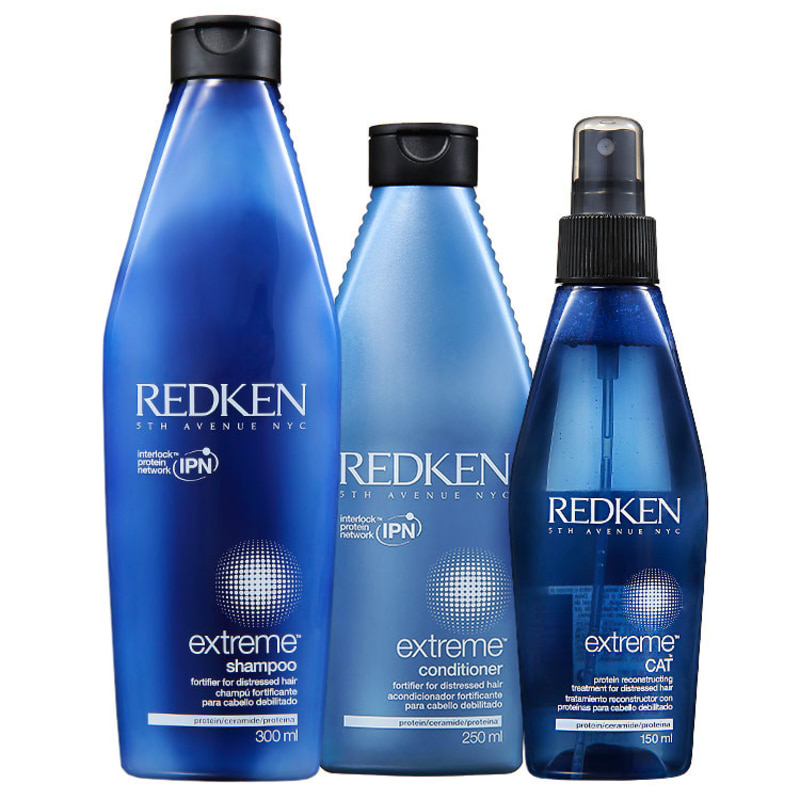 Redken Extreme Cat Strengthening Kit (3 Produtos)