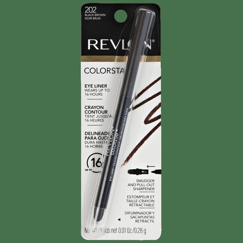 Revlon ColorStay Black Brown - Lápis de Olho