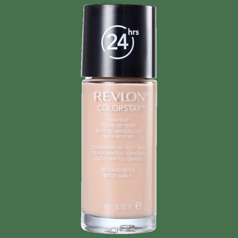Revlon ColorStay Pele Mista e Oleosa Sand Beige - Base Líquida 30ml