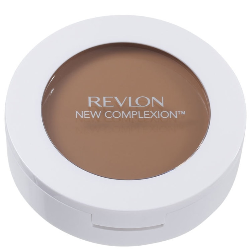 Revlon New Complexion One-Step Compact Makeup Natural Tan - Base 2 em 1 9,9g