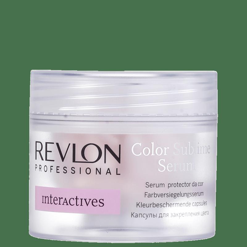 Revlon Professional Color Sublime Serum - Tratamento Capsulas 18x1ml