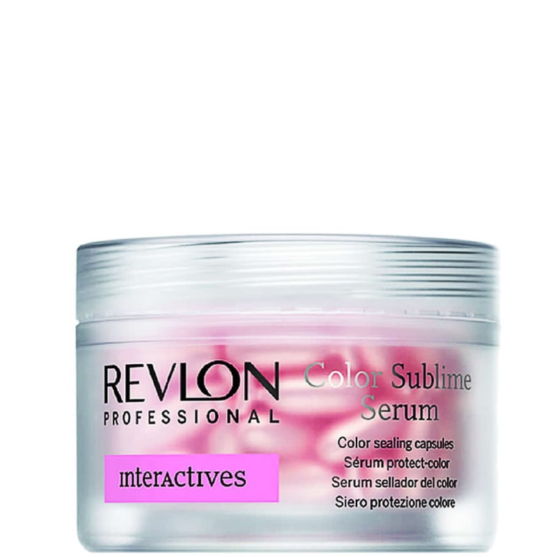Revlon Professional Color Sublime Serum - Tratamento Capsulas 18x1ml