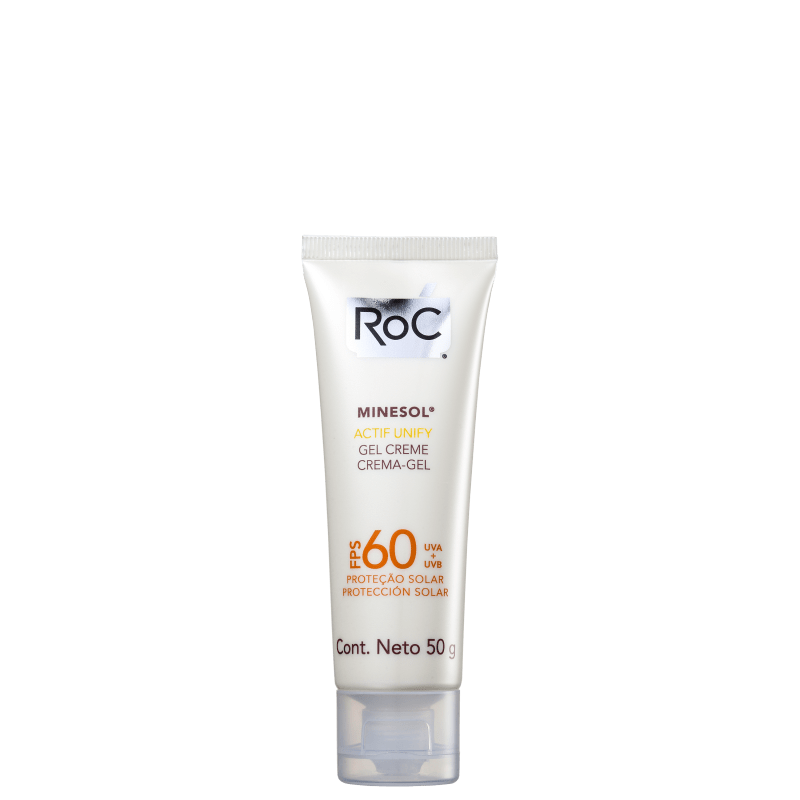 RoC Minesol Actif FPS 60 - Protetor Solar Facial 50g