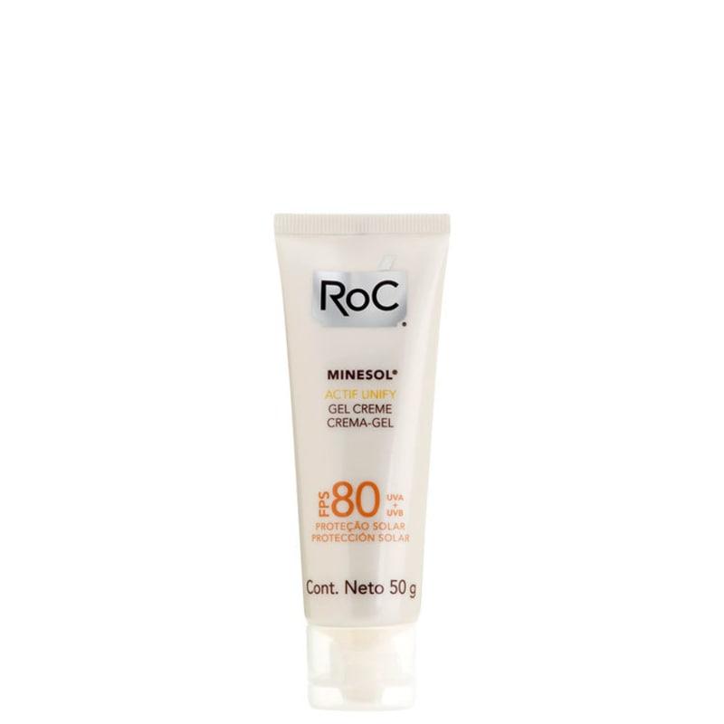RoC Minesol Actif Unify FPS 80 - Protetor Solar Facial 50g