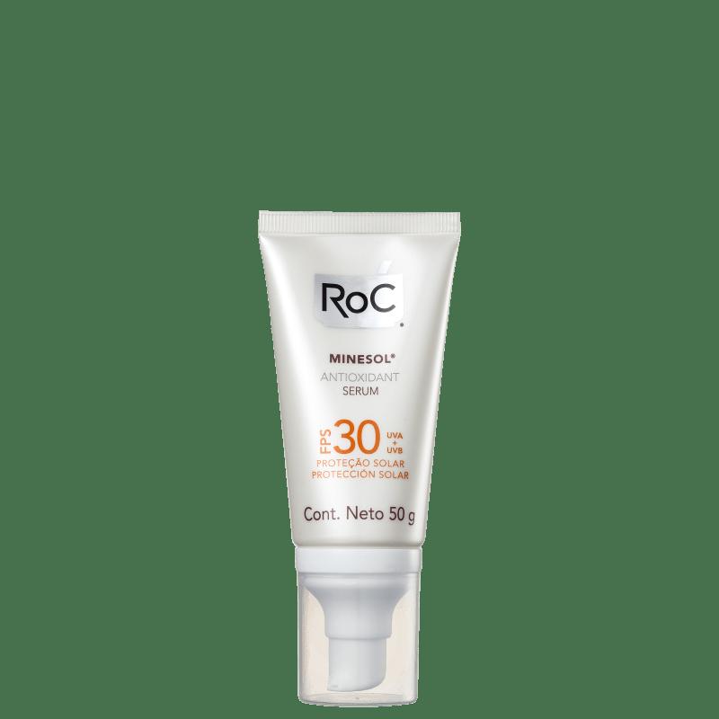 Protetor Solar RoC Minesol Antioxidante FPS 30
