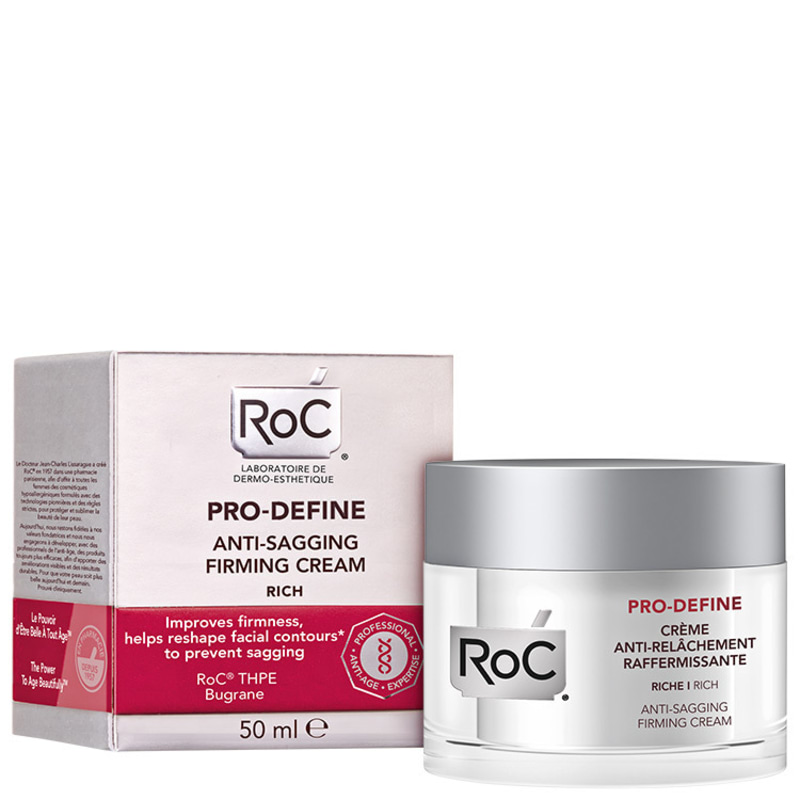 RoC Pro-Define Anti-Sagging Firming Rich - Creme Anti-Idade Firmador 50ml