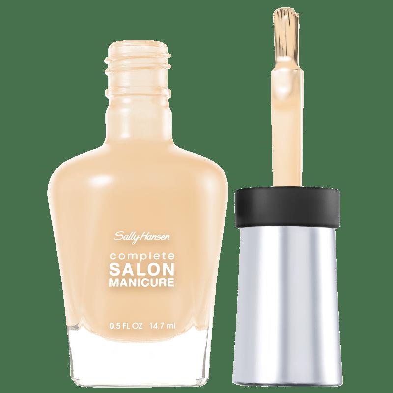 Sally Hansen Complete Salon Manicure 310 Almost Almond - Esmalte Perolado 14,7ml