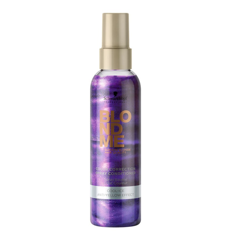 Schwarzkopf Professional Blondme Color Correction Spray Conditioner Cool-Ice - Leave-In Matizador 150ml