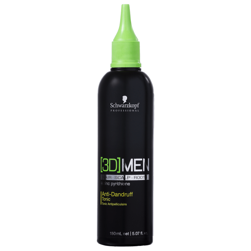 Schwarzkopf Professional 3D Men Anti-Dandruff Tonic - Tônico Anti-Caspa 150ml