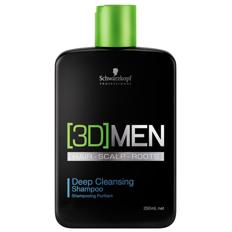 Schwarzkopf Professional 3D Men Deep Cleansing - Shampoo 250ml