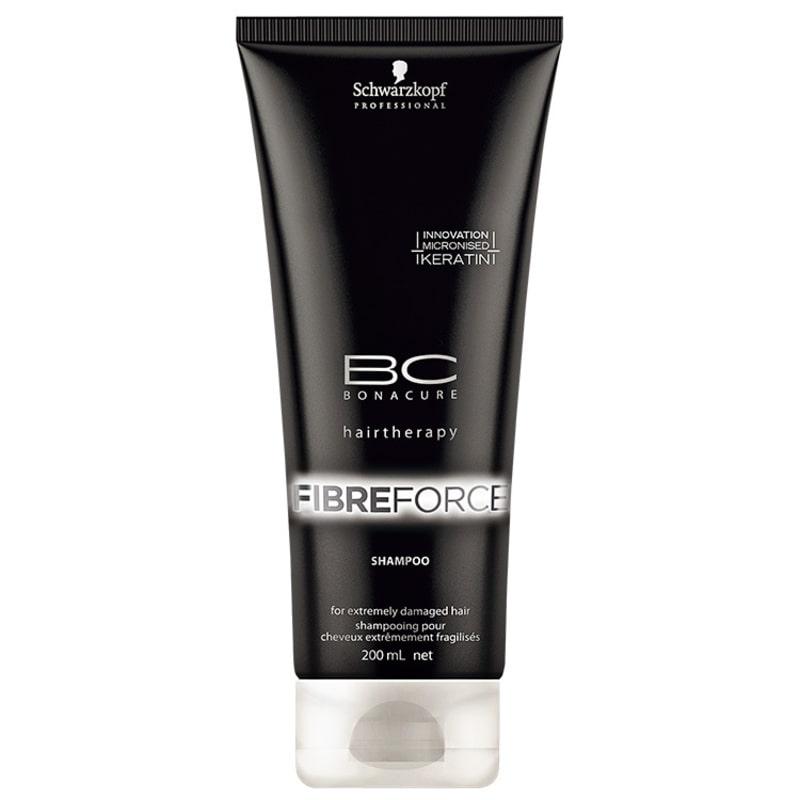 Schwarzkopf Professional BC Bonacure Fibre Force - Shampoo 200ml