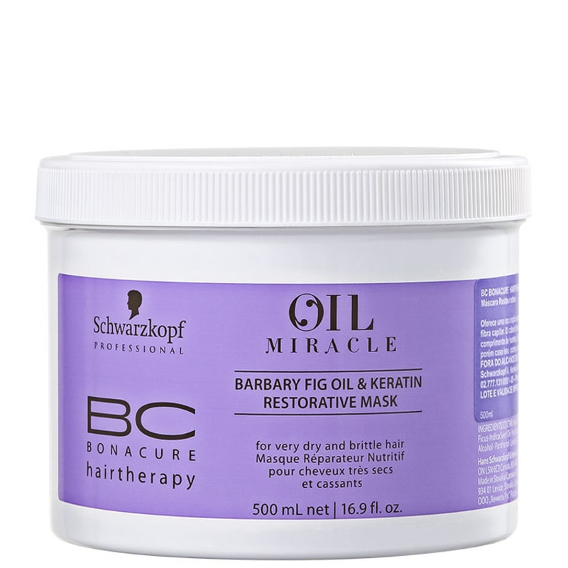 Schwarzkopf Professional BC Bonacure Oil Miracle Barbary Fig - Máscara 500ml