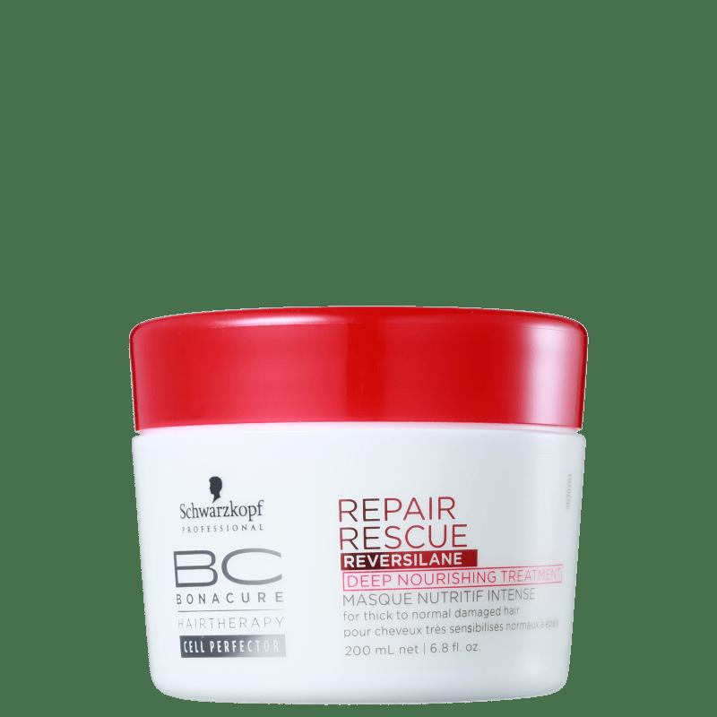 Schwarzkopf Professional BC Bonacure Repair Rescue Reversilane Deep Nourishing Treatment - Máscara 200ml
