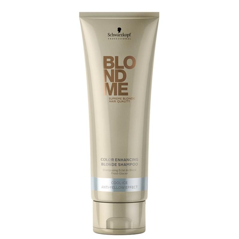 Schwarzkopf Professional Blondme Color Enhancing Blonde Anti-Yellow Effect - Shampoo 250ml