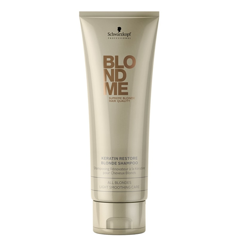 Schwarzkopf Professional Blondme Keratin Restore All Blondes - Shampoo 250ml