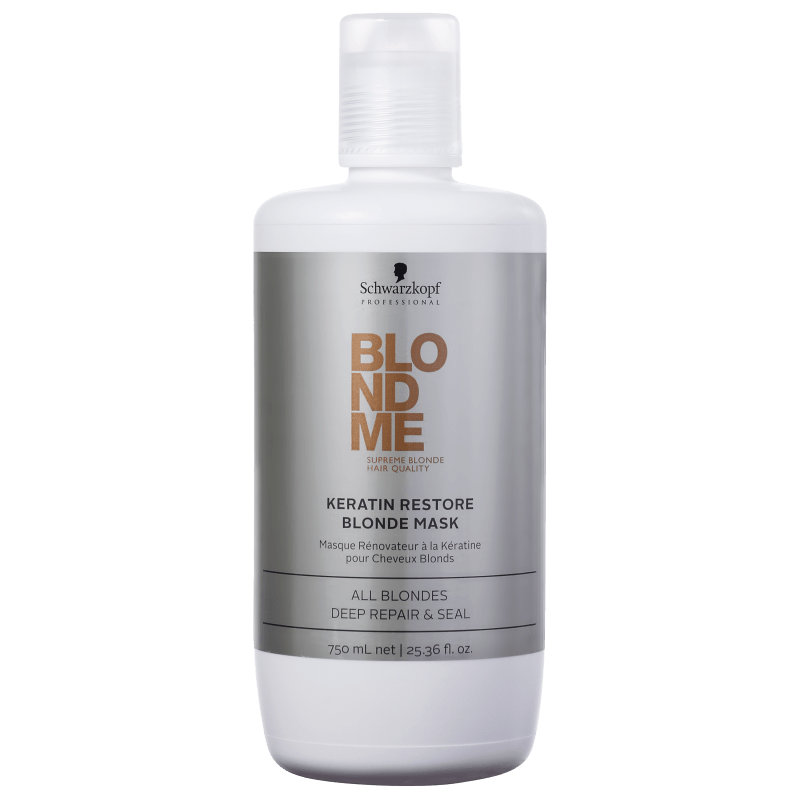 Schwarzkopf Professional Blondme Keratin Restore Blonde Mask All Blondes - Máscara de tratamento 750ml