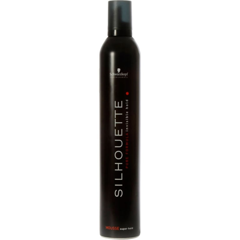 Schwarzkopf Professional Silhouette Mousse Super Hold - Finalizador 500ml