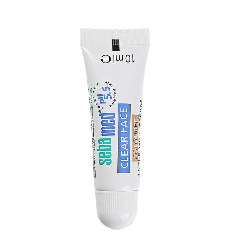 Sebamed Clear Face Coloured Anti-Pimple Cream - Creme Antiespinhas 10ml