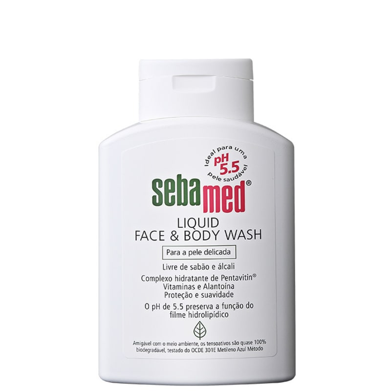 Sebamed Liquid Face & Body Wash - Sabonete Líquido Facial 200ml