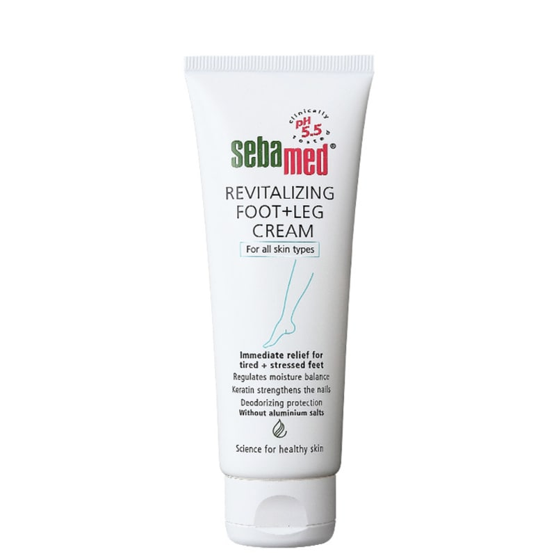 Sebamed Revitalizing Foot + Leg Cream - Creme para Pernas e Pés 75ml