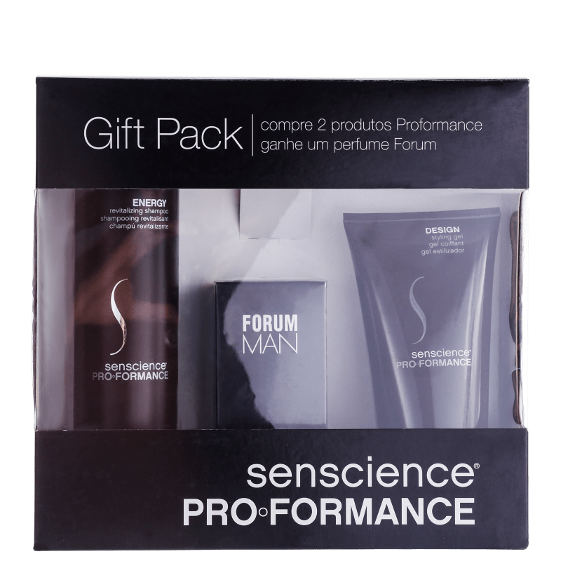 Senscience Pro Formance Energy Design Forum Kit (2 Produtos + Perfume)