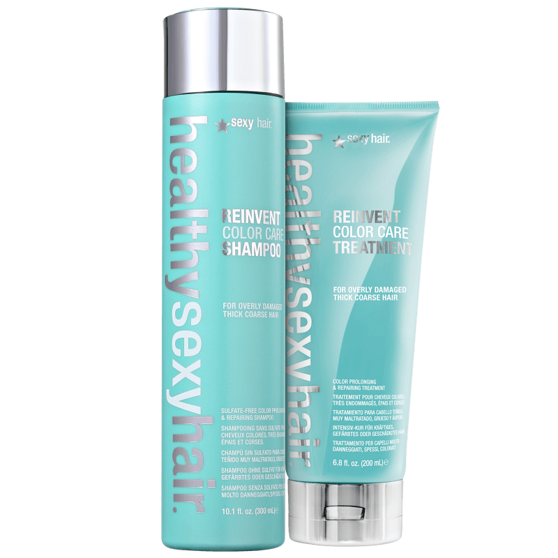 Kit Sexy Hair Healthy Reinvent Color Care Duo Treatment (2 Produtos)