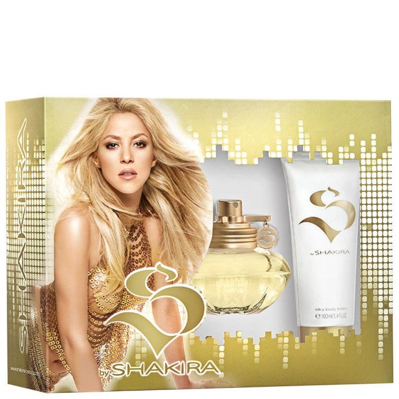 Conjunto S by Shakira Feminino - Eau de Toilette 80ml + Loção Corporal 100ml