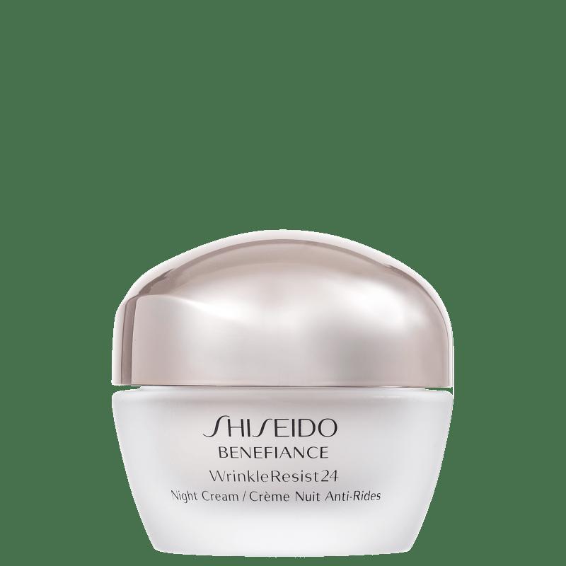 Shiseido Benefiance Wrinkle Resist24 Night - Creme Anti-Idade Noturno 50ml