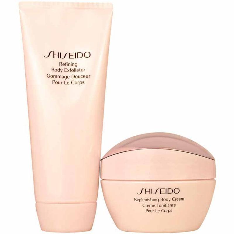 Kit Shiseido Body Care Refining Replenishing (2 produtos)
