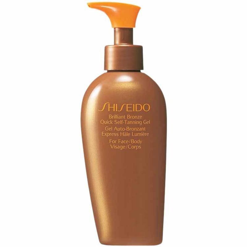 Shiseido Sun Care Brilliant Bronze Quick Self-Tanning Gel - Gel Autobronzeador 150ml