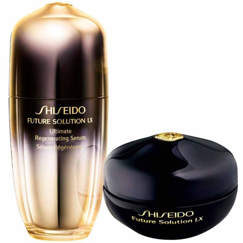 Kit Shiseido Future Solution LX Eye and Lip Treatment (2 produtos)