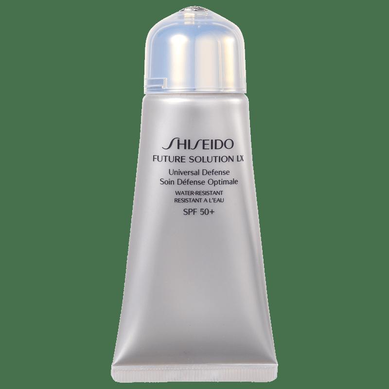 Shiseido Future Solution LX Universal Defense FPS 50 - Protetor Solar Facial 50ml