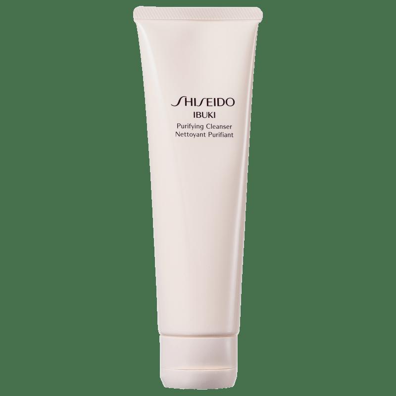 Shiseido Ibuki Purifying Cleanser - Espuma de Limpeza Facial 125ml