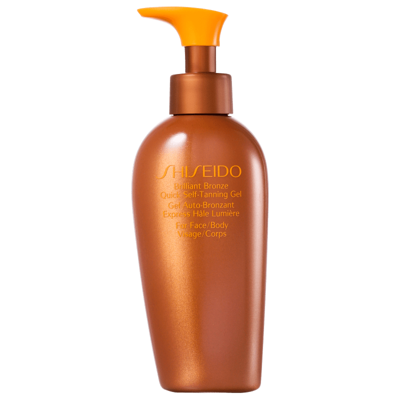 Shiseido Sun Care Brilliant Bronze Quick Self-Tanning Gel - Gel Autobronzeador 150ml