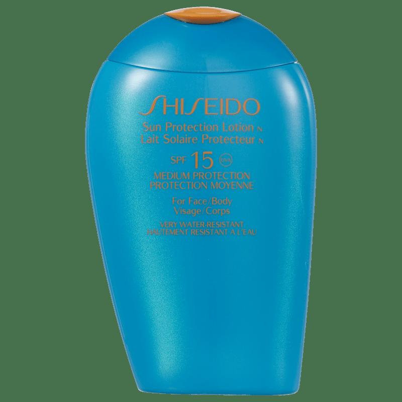 Shiseido Sun Protection Lotion N FPS 15 - Protetor Solar Facial 150ml