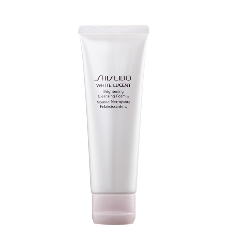 Shiseido White Lucent Brightening Cleansing W - Espuma de Limpeza Facial 125ml