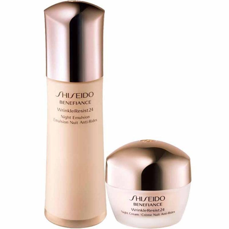 Shiseido Wrinkleresist 24 Night Treatment Kit (2 Produtos)