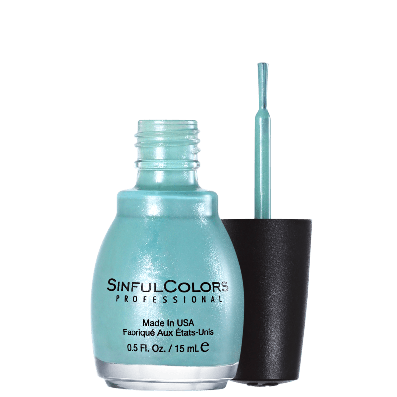 SinfulColors Professional Mint Apple 947 - Esmalte Cintilante 15ml