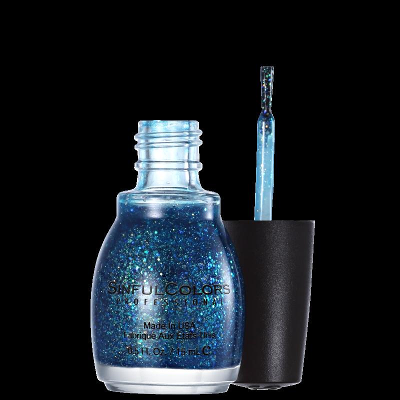 SinfulColors Professional Nail Junkie 927 - Esmalte Glitter 15ml