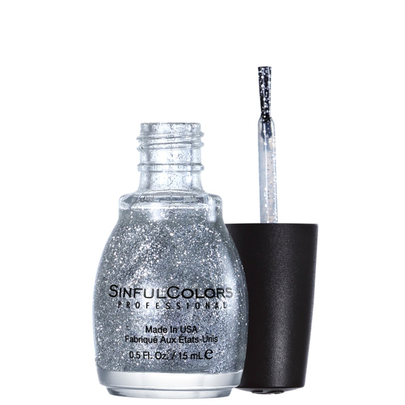 SinfulColors Professional Queen of Beauty 923 - Esmalte Glitter 15ml