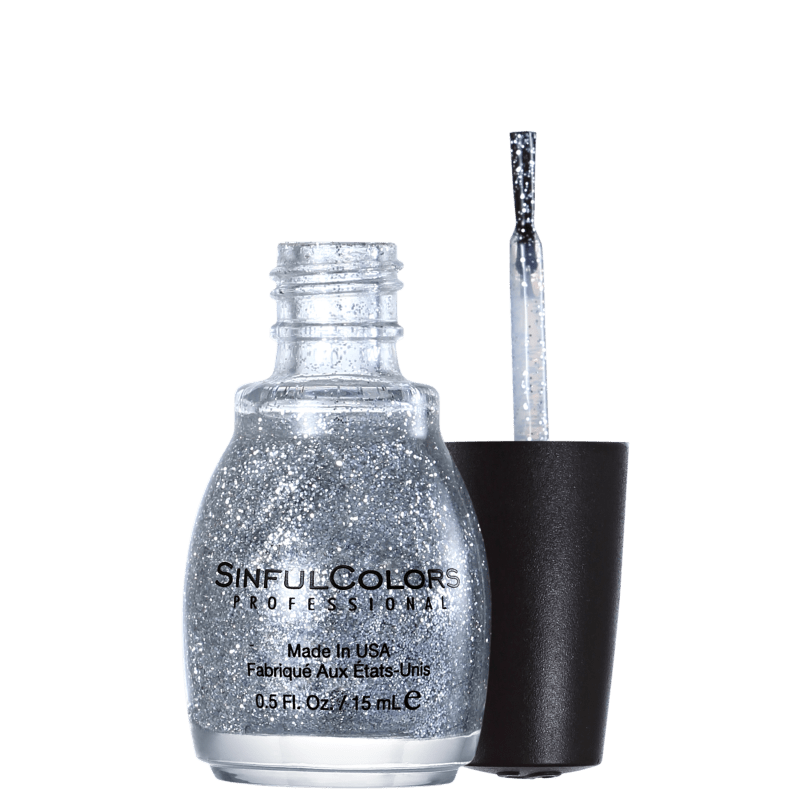 SinfulColors Professional Queen of Beauty 923 - Esmalte Glitter 15ml