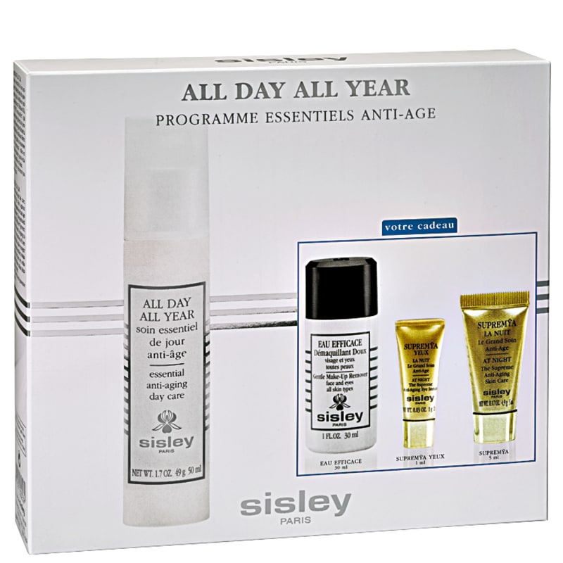 Sisley All Day All Year Anti-Aging Essentials Program Kit (4 Produtos)
