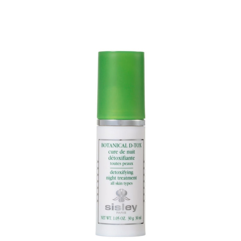 Sisley Botanical D-Tox Cure de Nuit - Loção Anti-Idade Noturna 30ml