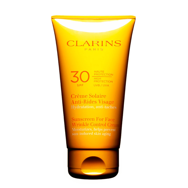 Clarins Sun Sunscreen for Face Wrinkle Control Cream FPS 30 - Protetor Solar Facial em Creme 75ml